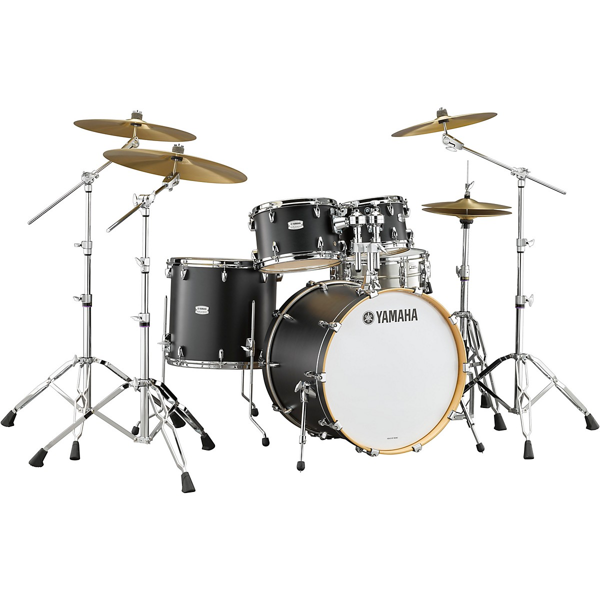 Yamaha Tour Custom Maple 4-Piece Shell Pack with 22 in. Bass Drum