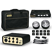 Friedman Tour Pro 1525 Gold Pack 15 x 25 in. Pedalboard with Buffer Bay