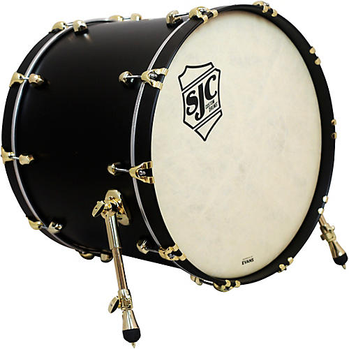 SJC Drums Tour Series Bass Drum Add On with Brass Hardware