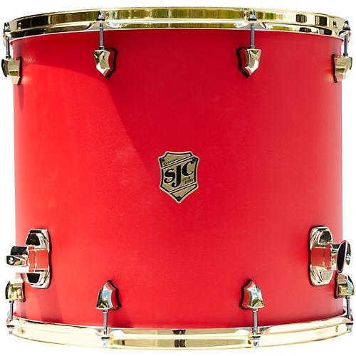 SJC Drums Tour Series Floor Tom Add On with Brass Hardware