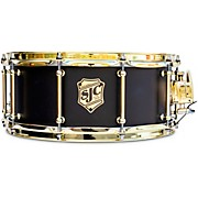 Tour Series Snare Drum with Brass Hardware 14 x 6 in. Onyx Lacquer