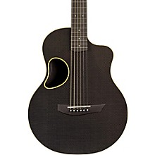 Touring Carbon Fiber Acoustic-Electric Guitar Yellow Binding
