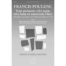 Salabert Tout puissant, très saint, trés haut et souverain Dieu TBB Composed by Francis Poulenc
