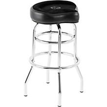 ROC-N-SOC Tower Saddle Seat Stool Level 1 Black Tall