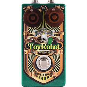 lounsberry pedals toy robot low gain overdrive effects pedal guitar center. Black Bedroom Furniture Sets. Home Design Ideas
