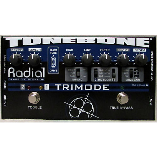 Radial Engineering TrI Mode Tube Distortion Effect Pedal