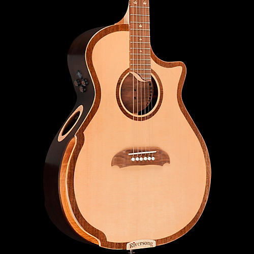 Riversong Guitars Tradition 2 Series Cutaway Grand Auditorium Acoustic-Electric Guitar
