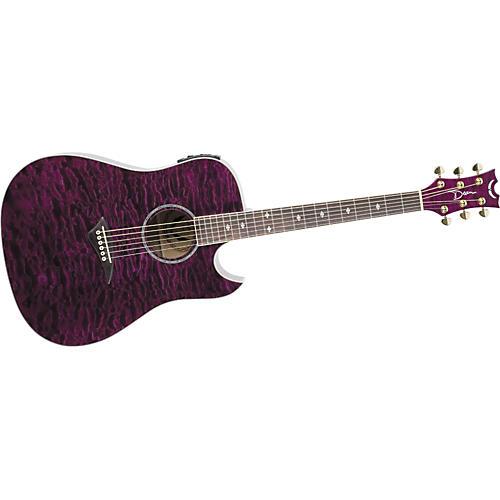 Dean Tradition Florentine Quilt Maple Acoustic-Electric Guitar