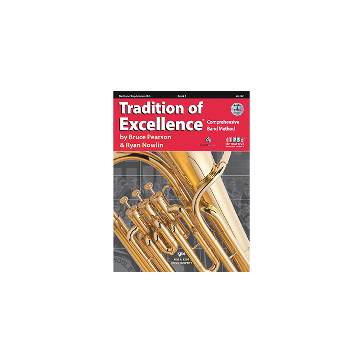 KJOS Tradition Of Excellence Book 1 for Baritone Bc