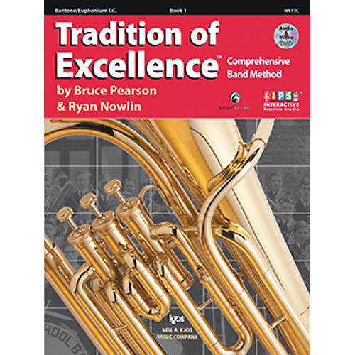 KJOS Tradition Of Excellence Book 1 for Baritone Tc