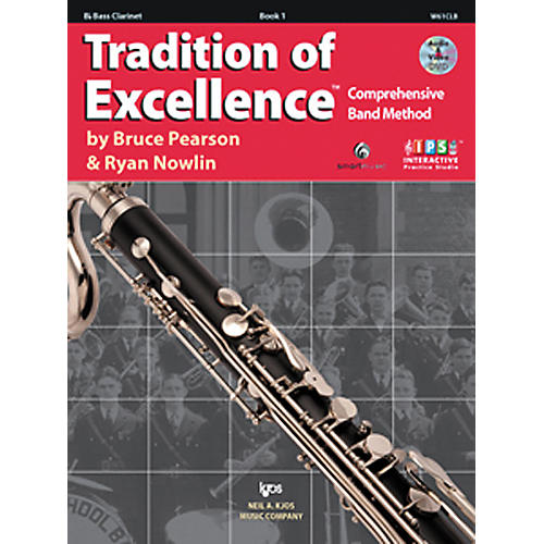 KJOS Tradition Of Excellence Book 1 for Bass Clarinet