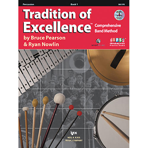 KJOS Tradition Of Excellence Book 1 for Percussion