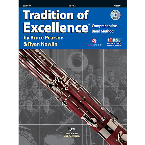 KJOS Tradition Of Excellence Book 2 for Bassoon