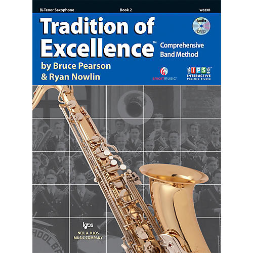 KJOS Tradition Of Excellence Book 2 for Tenor Sax