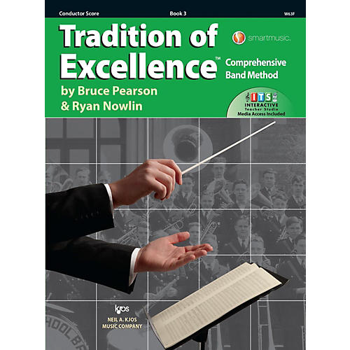 KJOS Tradition of Excellence Book 3 Score