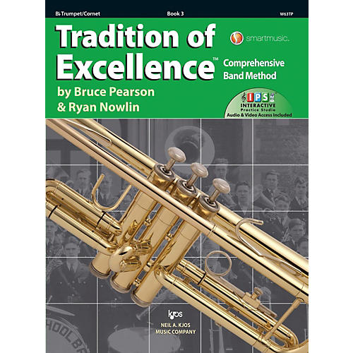 KJOS Tradition of Excellence Book 3 Trumpet