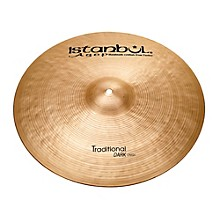 Traditional Dark Crash Cymbal 19 in.