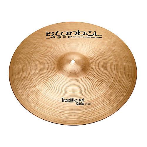 Istanbul Agop Traditional Dark Crash Cymbal