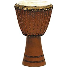 Overseas Connection Traditional Djembe Level 1 Natural 9x17 in.