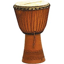 Traditional Djembe Natural 11.5 x 21.5 in.