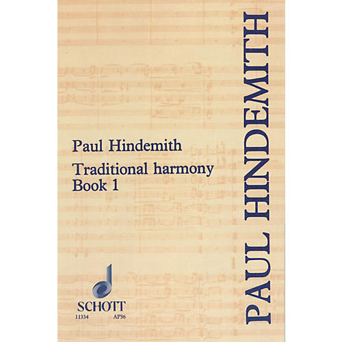 Schott Traditional Harmony Book 1