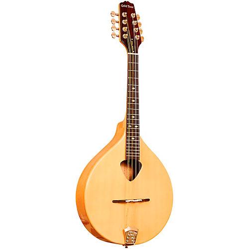 Gold Tone Traditional Left-Handed Irish Mandola with Case