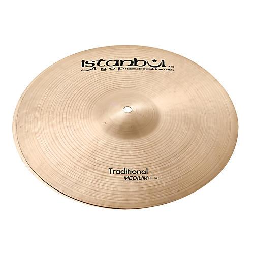 Istanbul Agop Traditional Medium Hi-Hat Cymbals