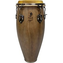 Traditional Series Wood Congas 11 in. Dark Walnut