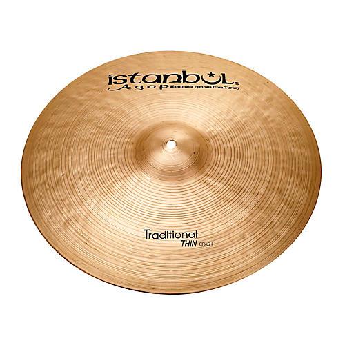 Istanbul Agop Traditional Thin Crash Cymbal