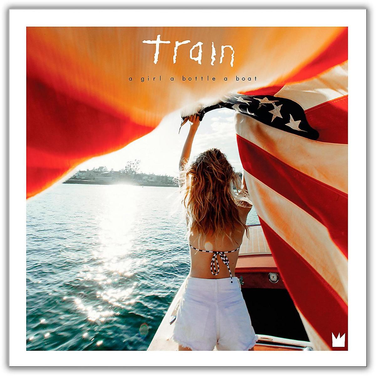 Sony Train - A Girl A Bottle A Boat