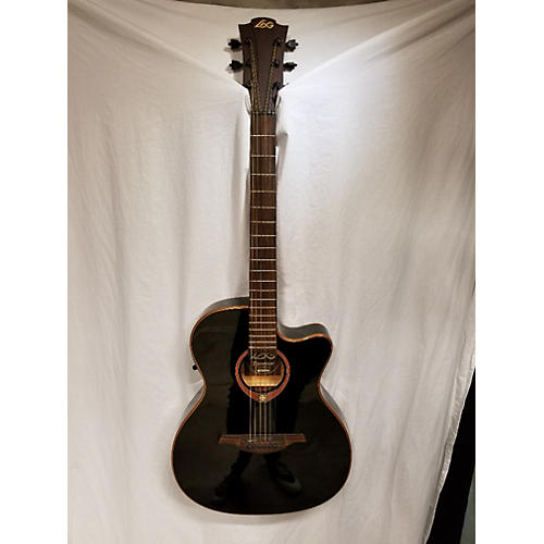 used lag guitars tramontane t100asce acoustic electric guitar guitar center. Black Bedroom Furniture Sets. Home Design Ideas
