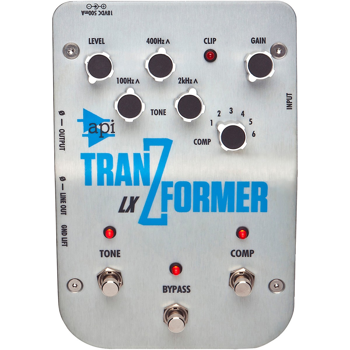 API TranZformer LX Multifunction Bass Effects Pedal