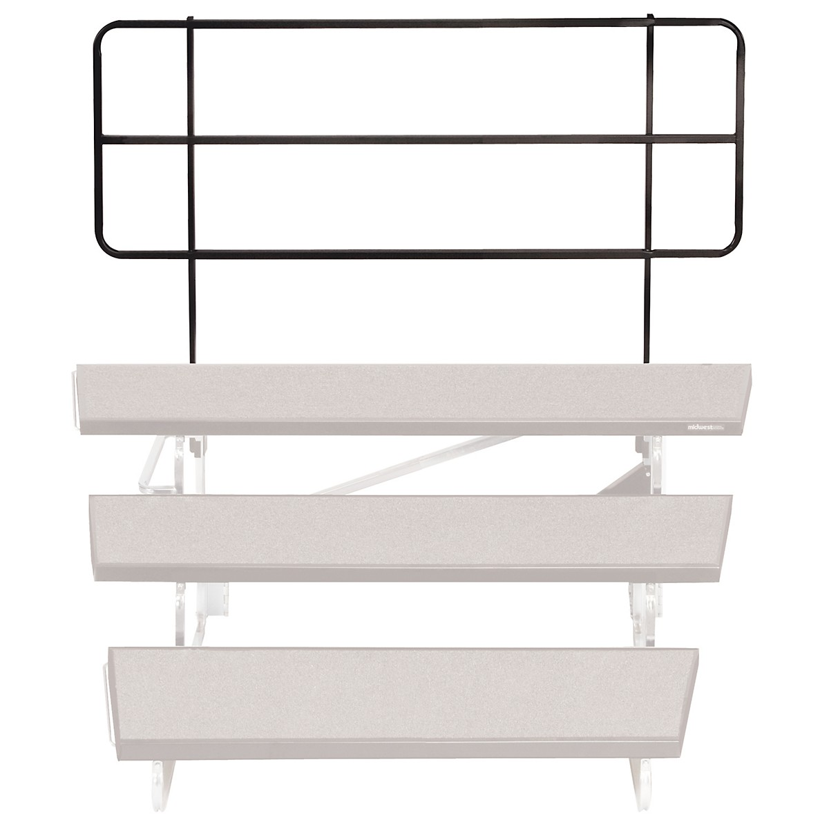 Midwest Folding Products TransFold Choral Risers