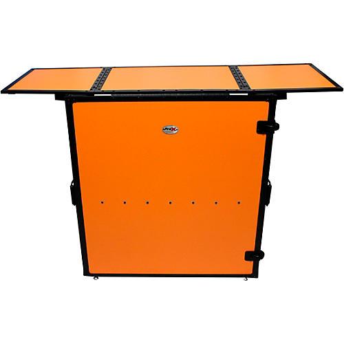 ProX Transformer Series Fold Away DJ Table - Orange/Black (XS-DJSTNRB)