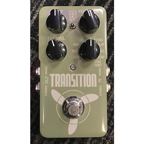 TC Electronic Transition Delay Effect Pedal