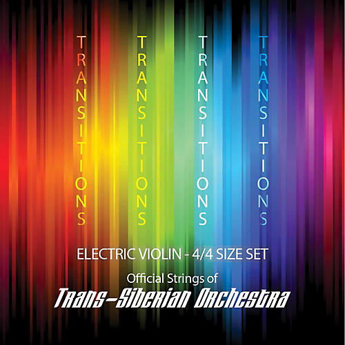 Super Sensitive Transitions Electric Violin Strings E String (plain)