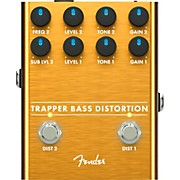 Trapper Bass Distortion Effects Pedal Copper