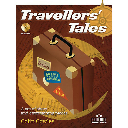Fentone Travellers' Tales (for Clarinet) Fentone Instrumental Books Series BK/CD