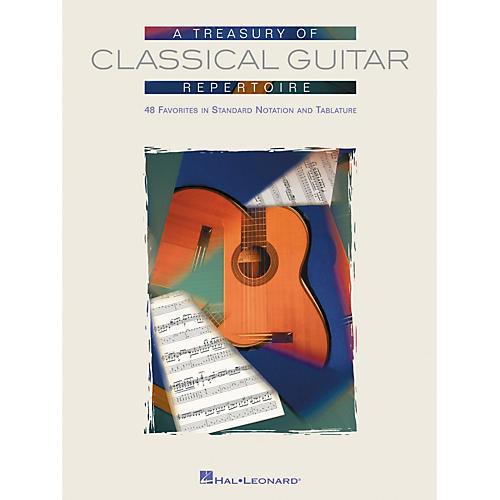 Hal Leonard Treasury of Classical Guitar Repertoire Tab & Notation Book
