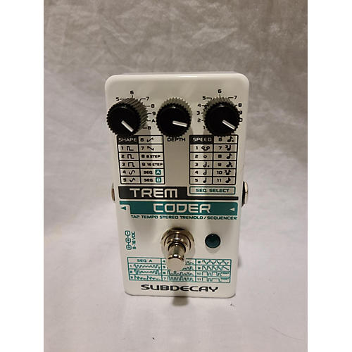 Subdecay Trem Coder Effect Pedal