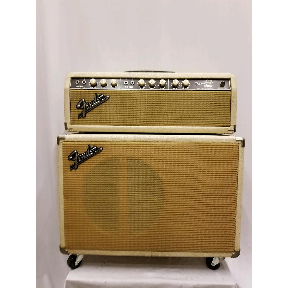 Fender Tremolux Piggyback Set Tube Guitar Amp Head