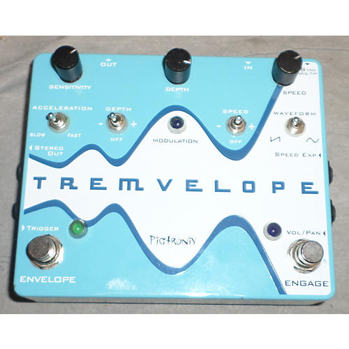 Pigtronix Tremveelope Effect Pedal