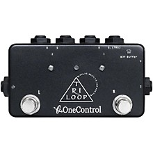 One Control Tri Loop Effects Switcher Pedal