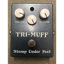 Stomp Under Foot Tri Muff Classic Effect Pedal