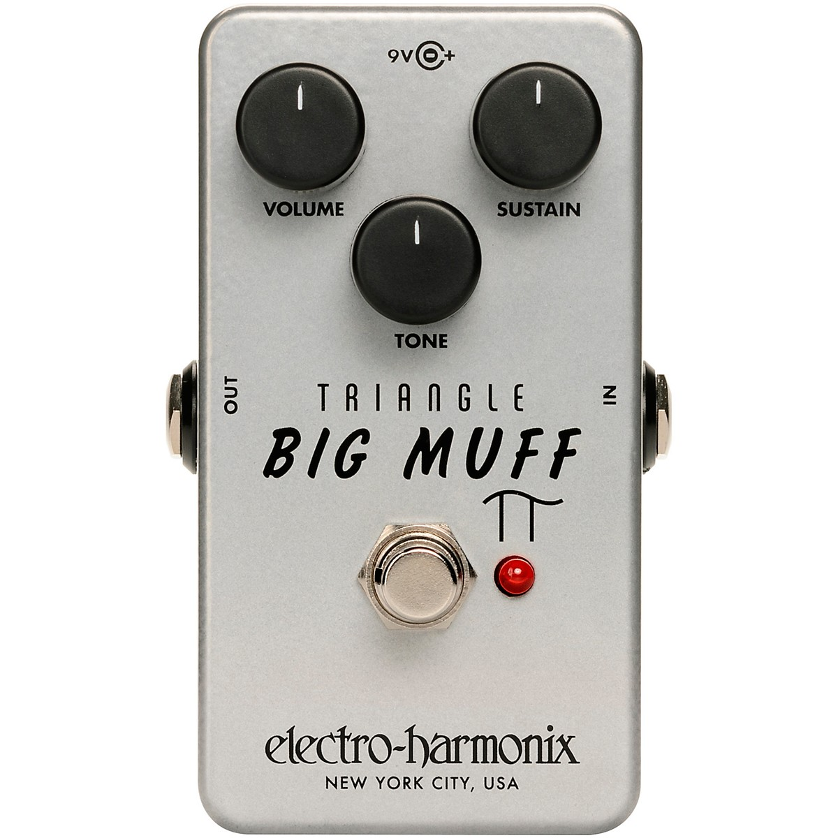 Electro-Harmonix Triangle Big Muff Pi Distortion/Sustainer Effects Pedal