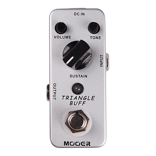 Mooer Triangle Buff Fuzz Guitar Effects Pedal