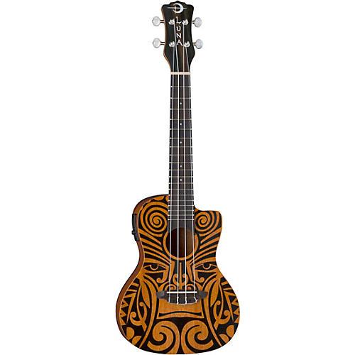 Luna Guitars Tribal Concert Acoustic-Electric Ukulele