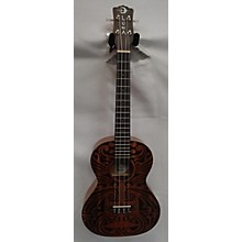 Luna Guitars Tribal Tenor Ukulele
