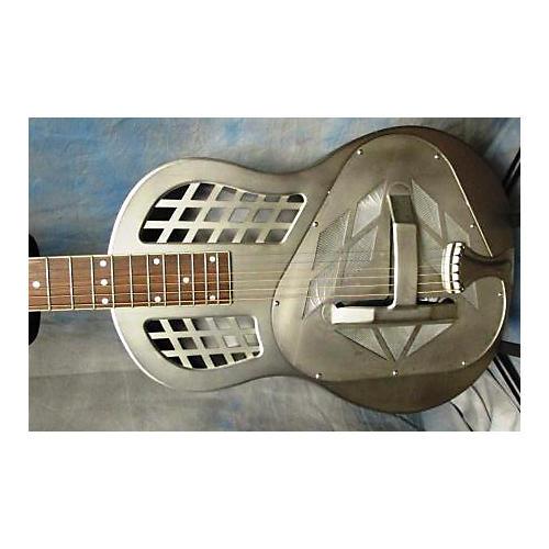 Republic Tricone Resonator 12-Fret Round Neck Acoustic Electric Guitar