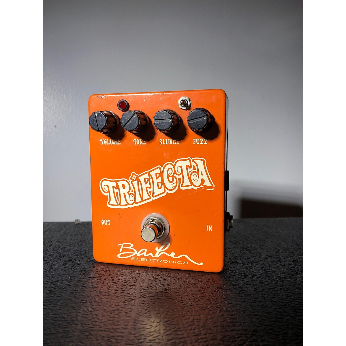 Barber Electronics Trifecta Effect Pedal